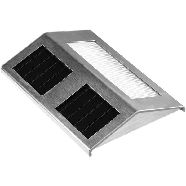 VOLTRONIC® Treppenleuchte aus Edelstahl, Solarleuchte