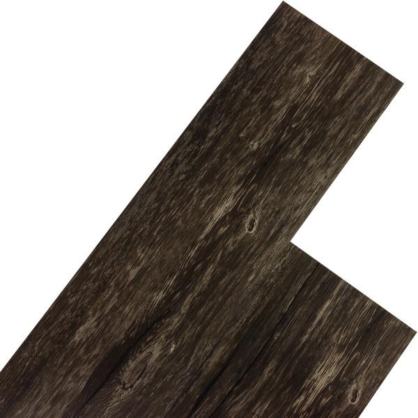 STILISTA® 20m² Vinylboden, Eiche rustikal dunkel