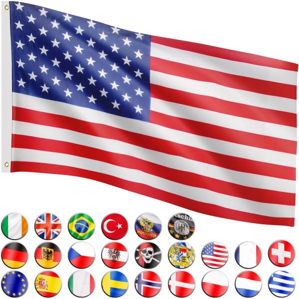 FLAGMASTER® Fahne USA Flagge