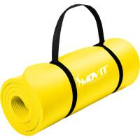 MOVIT® Gymnastikmatte, 183x60x1,0 cm, Yogamatte, Gelb