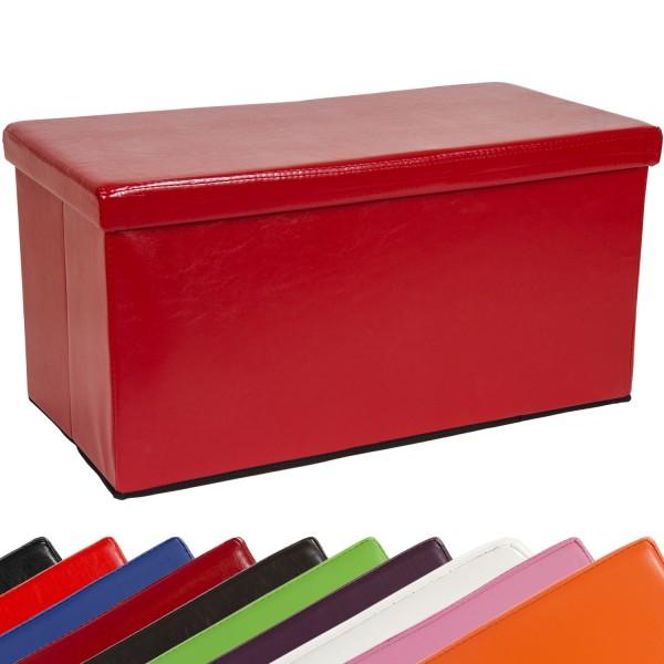 STILISTA® Bigbox, Faltbox, Sitzhocker, Sitzwürfel, Dunkelrot