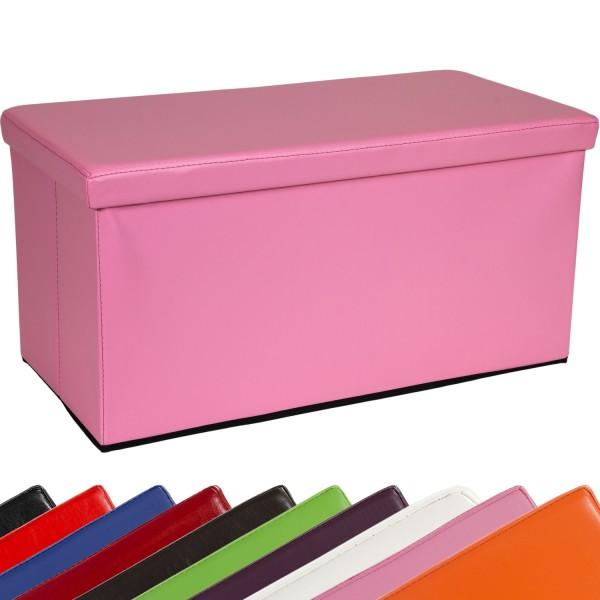 STILISTA® Bigbox, Faltbox, Sitzhocker, Sitzwürfel, Pink