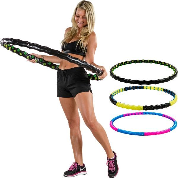 MOVIT® Hip Hoop, Hula Hoop Reifen, 80 Magneten, Ø 110 cm