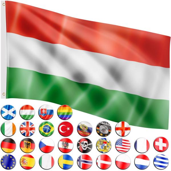 FLAGMASTER® Fahne Ungarn Flagge