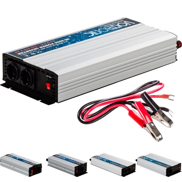 VOLTRONIC® Spannungswandler Inverter 24V auf 230V 2000W