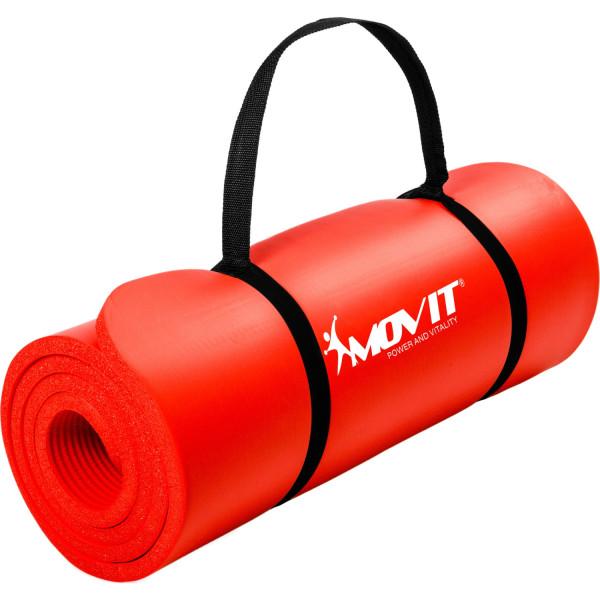 MOVIT® Gymnastikmatte, 190x60x1,5cm, Rot