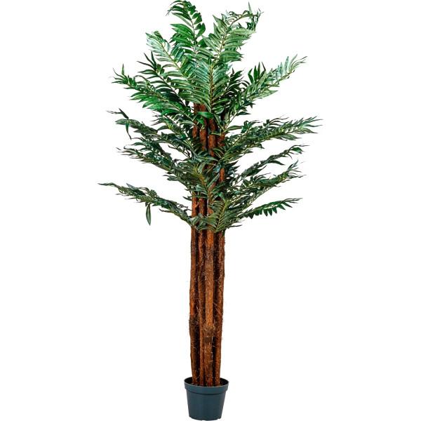 PLANTASIA® Arecapalme, Kunstpalme, Kunstpflanze, 180cm