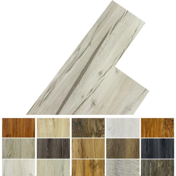 STILISTA® 5,07m² Vinylboden, Eiche gewaschen
