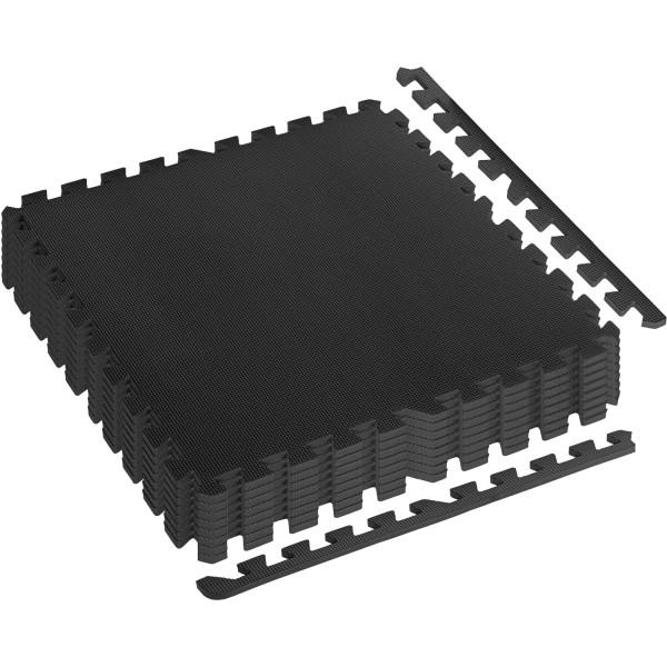 MOVIT® Schutzmatten Set 3m² schwarz