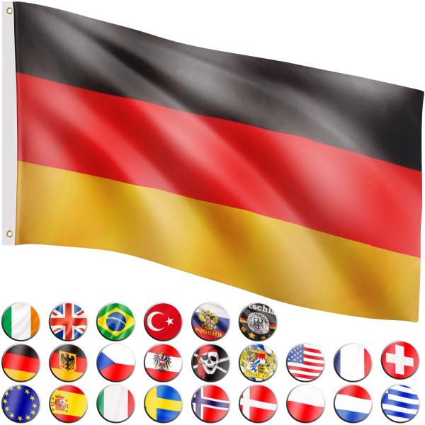 FLAGMASTER® Fahne Deutschland Flagge