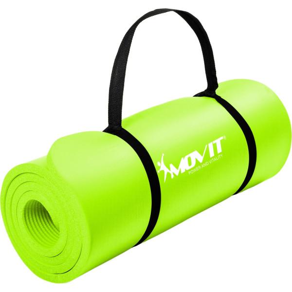 MOVIT® Gymnastikmatte, 183x60x1,0 cm, Yogamatte, Limette