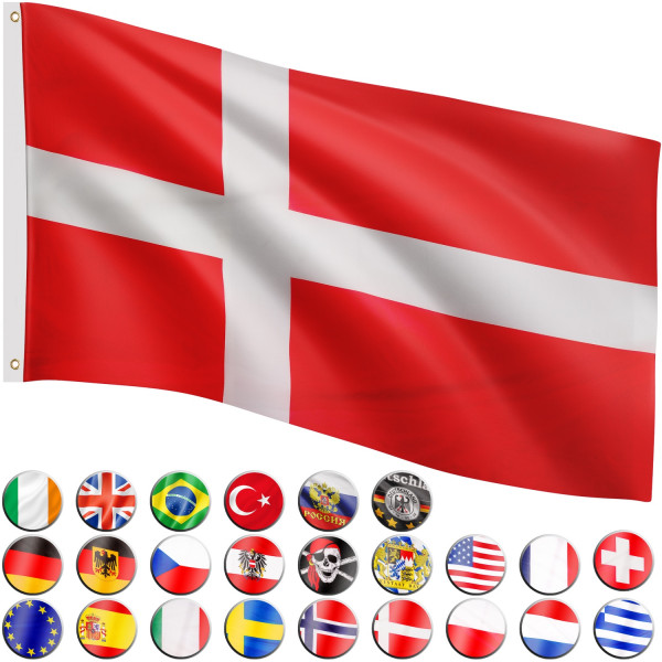 FLAGMASTER® Fahne Dänemark Flagge