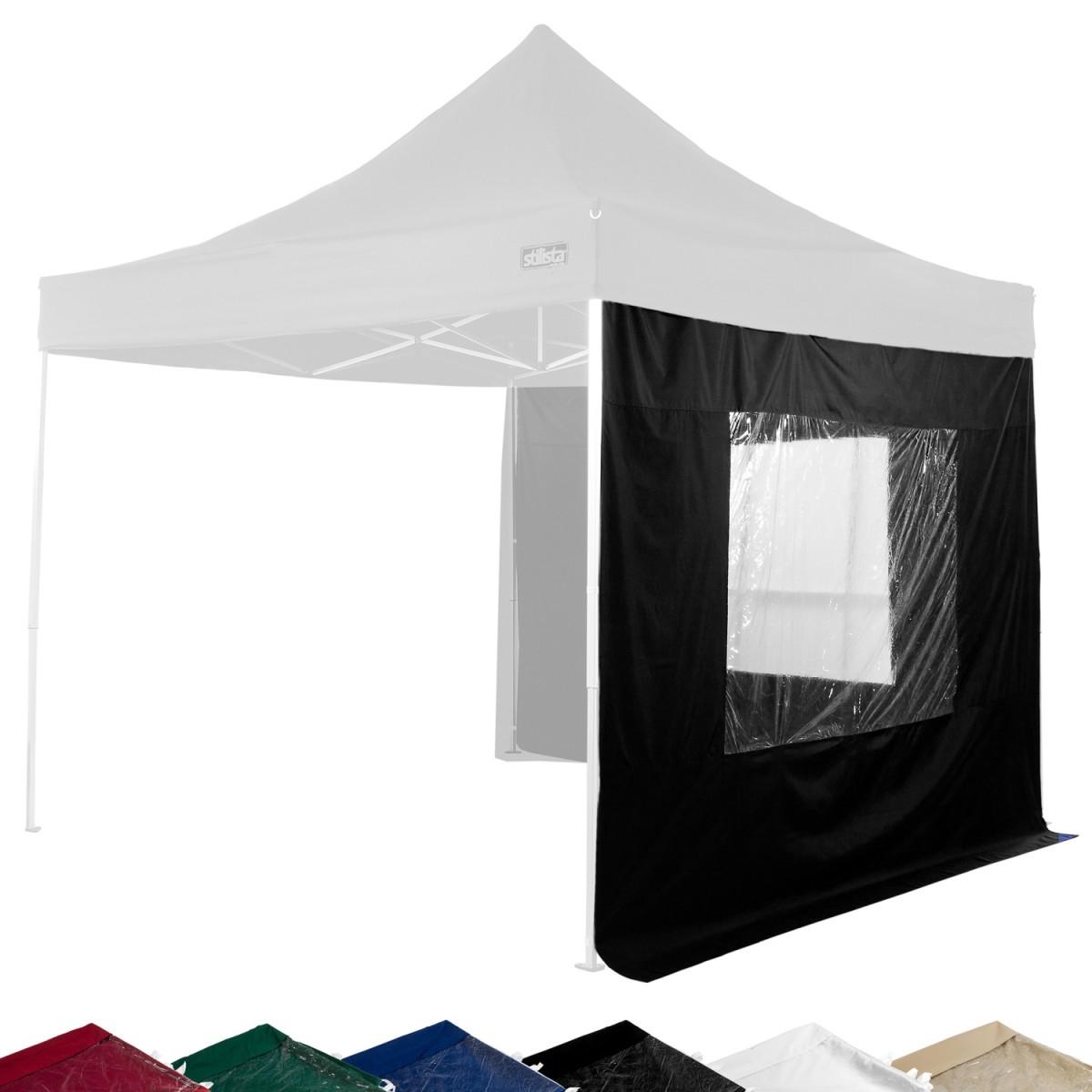 Stilista seitenteile fenster pavillon 2er set schwarz for Fenster marken