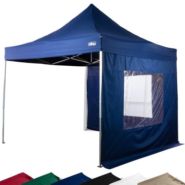STILISTA® Faltpavillon blau, 3 x 3 m