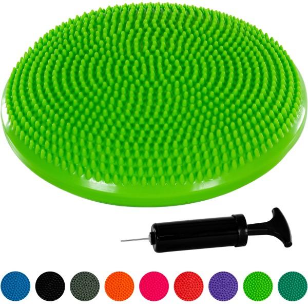MOVIT® Ballsitzkissen, Sitzhilfe Durchmesser 33 cm, Grün
