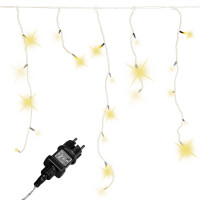 VOLTRONIC® 200 LED Lichterkette Eisregen, warmweiß