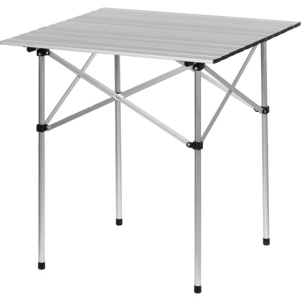 Campingtisch, Aluminium, 70x70x70cm, inkl. Tragetasche