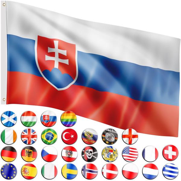 FLAGMASTER® Fahne Slowakai Flagge