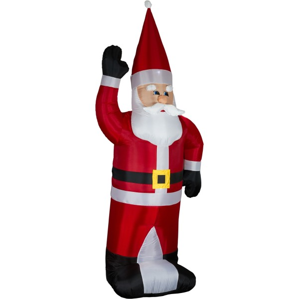 Aufblasbarer Weihnachtsmann LED-beleuchet, 280 cm hoch