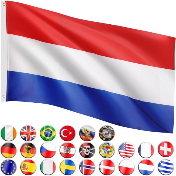 FLAGMASTER® Fahne Niederlande Flagge