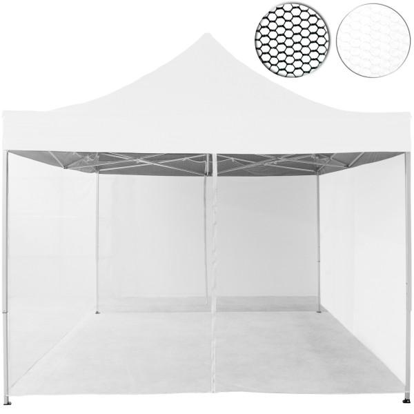 Moskitonetz, für 3 x 3 Pavillon, weiß
