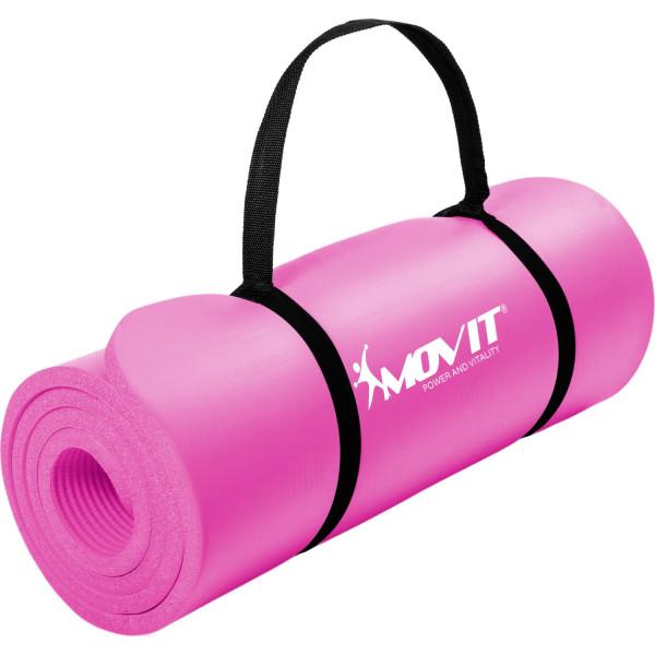 MOVIT Gymnastikmatte, 183x60x1,0 cm, Yogamatte, Pink