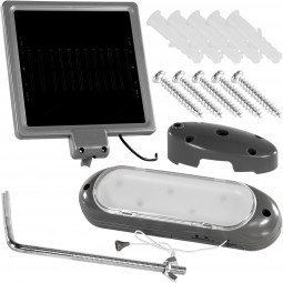 VOLTRONIC® Solar Wandleuchte, Solarlampe