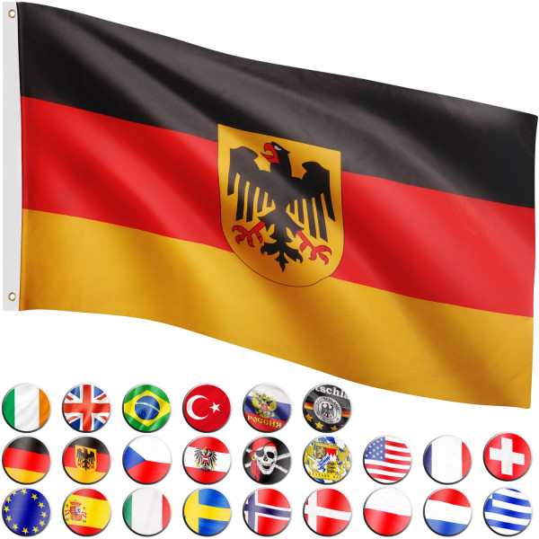 FLAGMASTER® Fahne Deutschland Adler Flagge