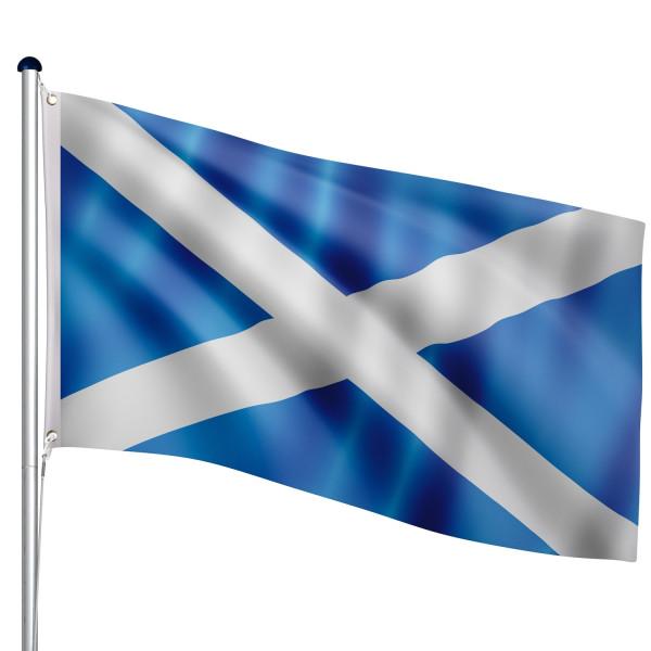FLAGMASTER® Aluminium Fahnenmast Schottland 6,50m