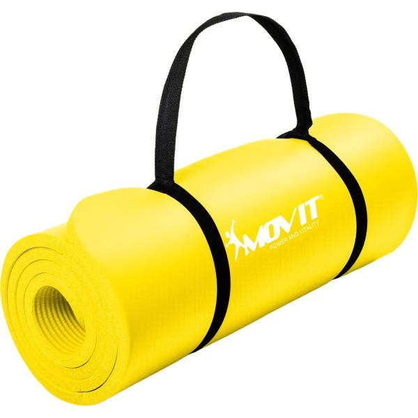 MOVIT® Gymnastikmatte, 190x60x1,5cm, Gelb