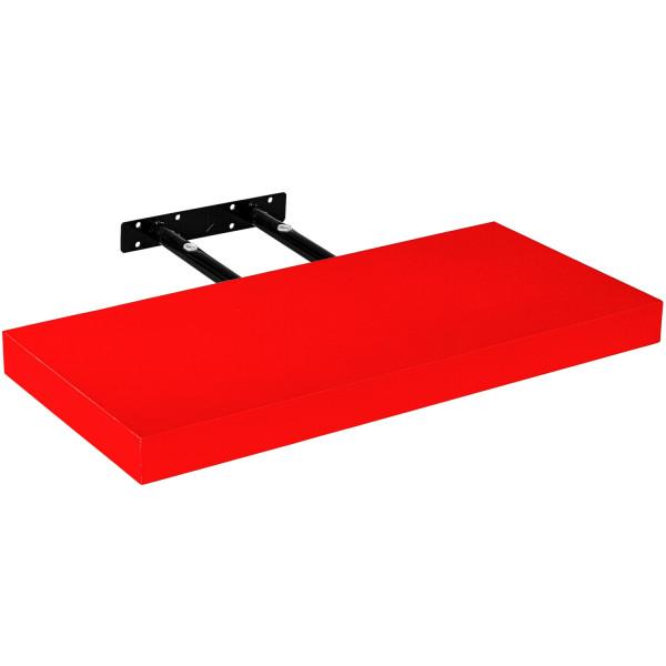 """STILISTA® Wandboard """"Volato"""", Länge 50 cm, Rot"""