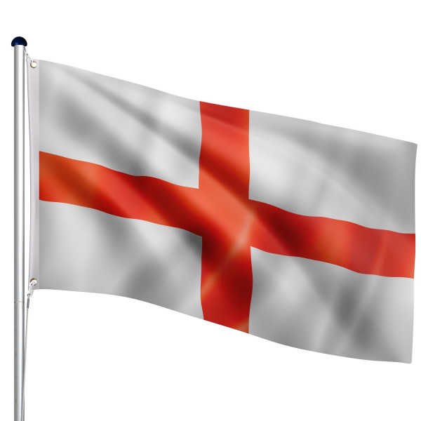 FLAGMASTER® Aluminium Fahnenmast England 6,50m