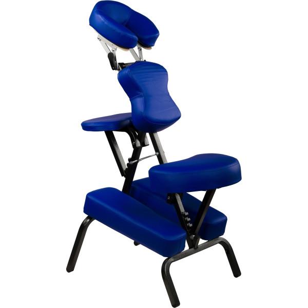 MOVIT® Massagestuhl, Massageliege, Royalblau, klappbar