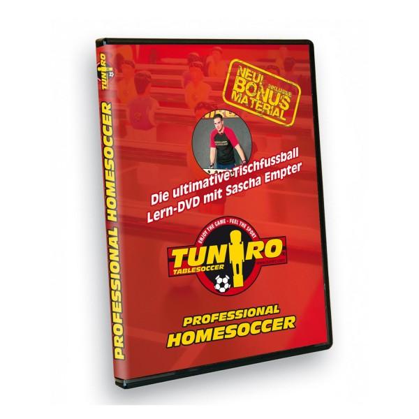 TUNIRO® Tischfussball, Tischkicker, Lern-DVD