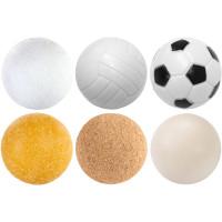 6 Stück Kicker Bälle Mix Tischfussball Kickerbälle Ball