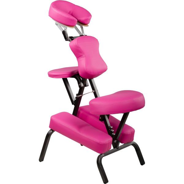 MOVIT® Massagestuhl, Massageliege, Pink, klappbar
