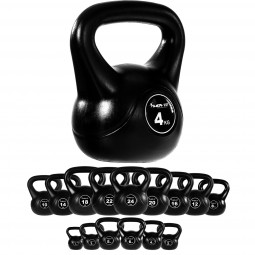 MOVIT® Kettlebell Kugelhantel 4 kg Rundgewicht Kugelgewicht