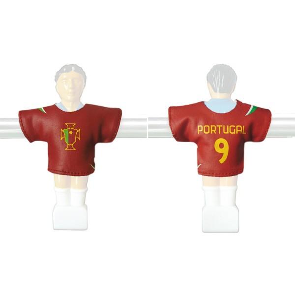 Kicker-Trikot Tischfussball Zubehör, Trikot-Set Portugal