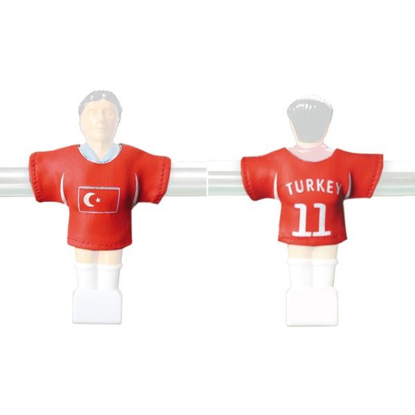 Kicker-Trikot Tischfussball Zubehör, Trikot-Set Türkei