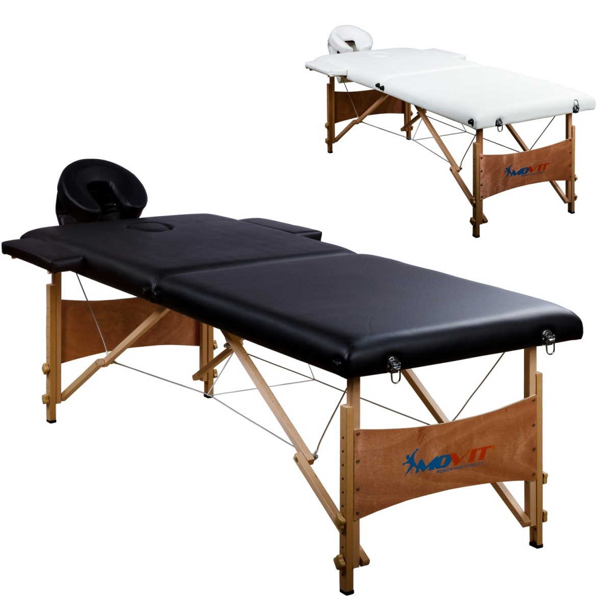 movit mobile massageliege massagebank schwarz massage wellness freizeit. Black Bedroom Furniture Sets. Home Design Ideas
