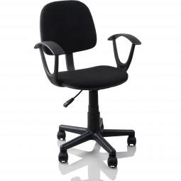 Bürostuhl Drehstuhl Schreibtischstuhl, Schwarz