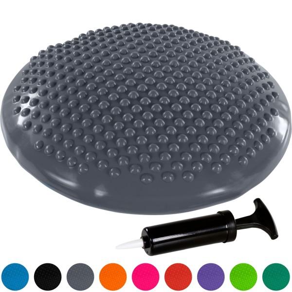 MOVIT® Ballsitzkissen, Sitzhilfe Durchmesser 37 cm, Grau