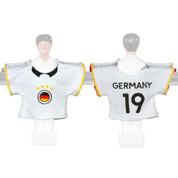Kicker-Trikot Tischfussball Zubehör, Trikot-Set Deutschland