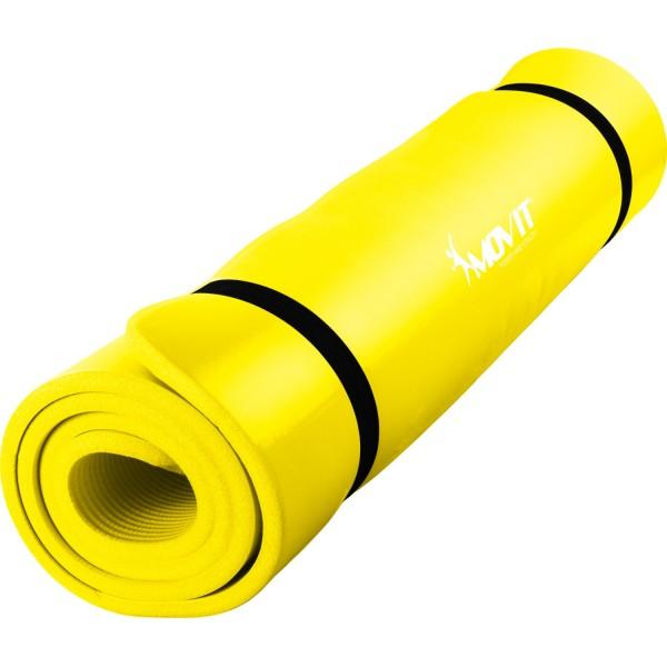 MOVIT® Gymnastikmatte, 190x100x1,5cm, Gelb