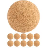 TUNIRO® Profi Tischfussball Kicker Bälle aus Kork 10 Stück