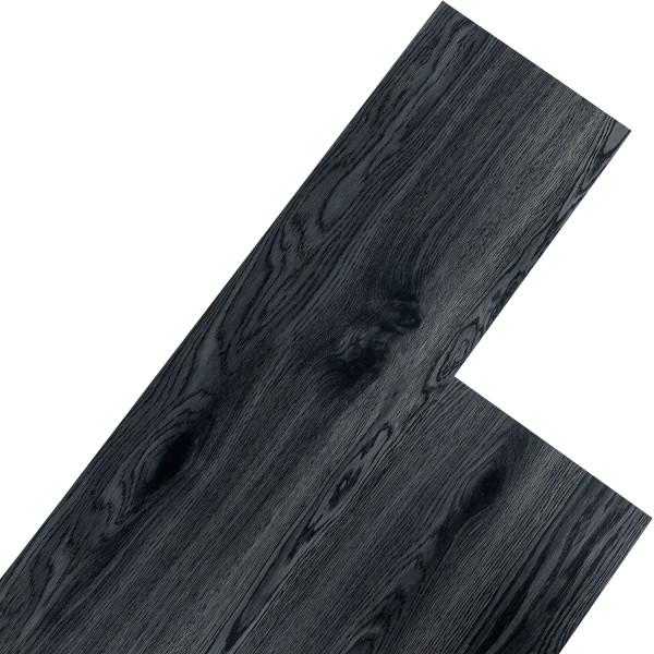 STILISTA® 5,07m² Vinylboden, Eichenkrone schwarz