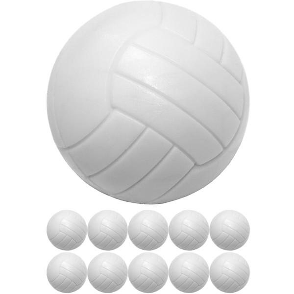 Tischfussball, 10 Kicker Bälle, Weiß
