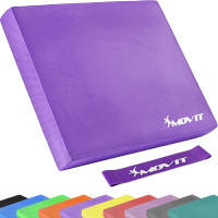 MOVIT® Balance Pad Sitzkissen violett mit Gymnastikband