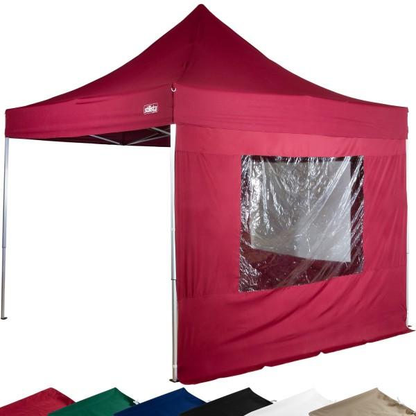 STILISTA® Faltpavillon burgund, 3 x 3 m