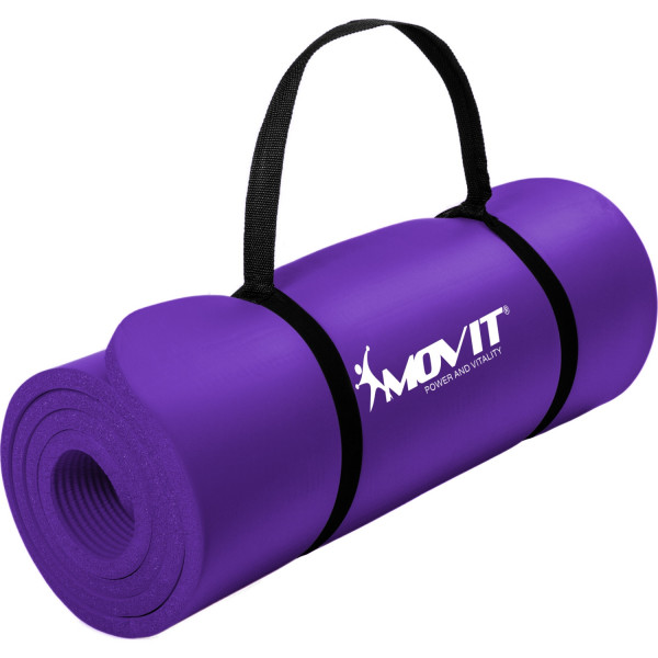 MOVIT® Gymnastikmatte, 183x60x1,0 cm, Yogamatte, Lila